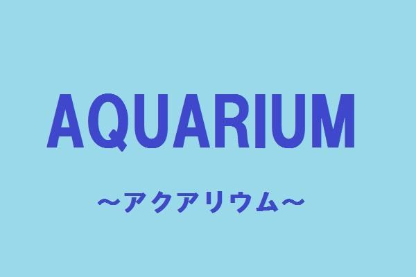 AQUARIUM(アクアリウム)の紹介0